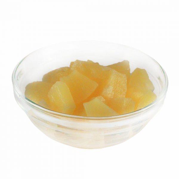 Ananasai pjaustyti gabaliukais